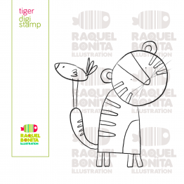 Digistamp BEAR - scrapbooking - colouring
